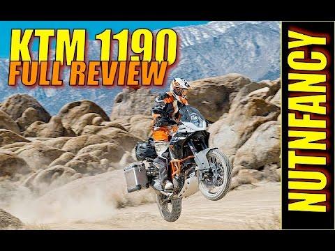 World' Best Adventure Bike: KTM 1190 [Full Review]