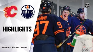 Flames @ Oilers 3/6/21 | NHL Highlights