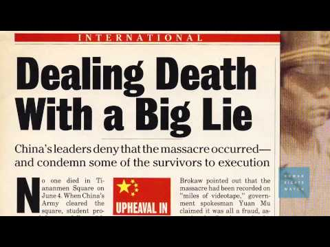 China: Address Enduring Legacy of Tiananmen Massacre