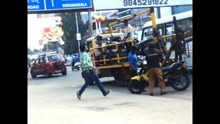 Bengaluru Traffic Police(BTP) Towing Vehicles Documentary - Jeevan Bhima Nagar, Bangalore