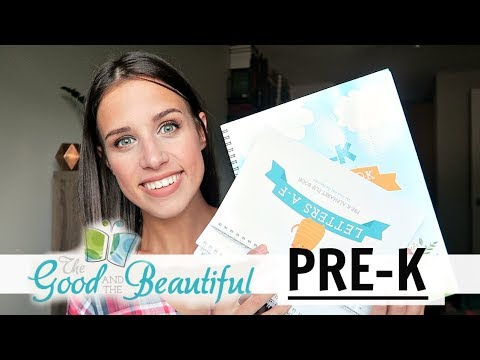 OUR PRE-K HOMESCHOOL CURRICULUM | THE GOOD AND THE BEAUTIFUL