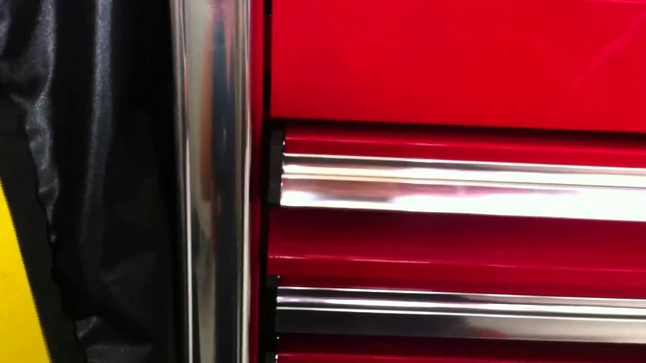 Snap On Epiq tool box 68in manufacture defect  YouTube