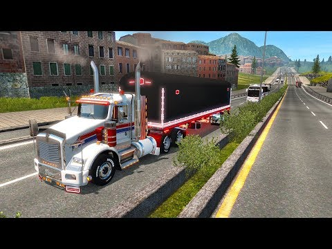 Repeat GTM Kenworth W900B vs 190,000 LBS | American Truck Simulator