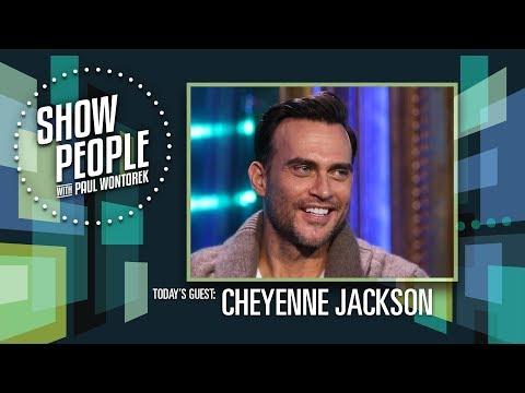 Show People with Paul Wontorek: Cheyenne Jackson of AMERICAN HORROR STORY & HELLO AGAIN