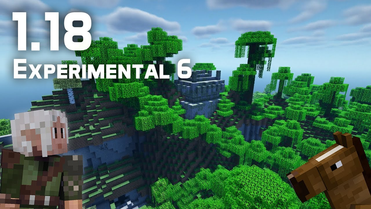 What's New in Minecraft 1.18 Experimental Snapshot 6?