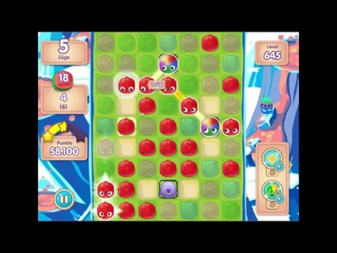 Jelly Splash lvl 645 - 3 Stars -