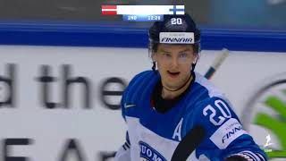 Sebastian Aho 2 Goals and 4 Assists vs Latvia