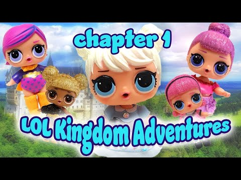 LOL Surprise Dolls Storybook Kingdom Adventure Chapter 1! w