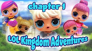 LOL Surprise Dolls Storybook Kingdom Adventure Chapter 1! w Curious QT, Angel & Independent Queen!