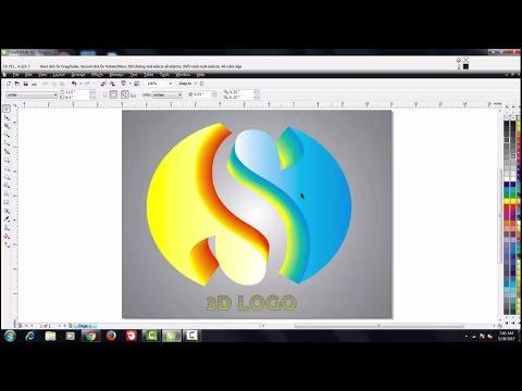 Tutorial Membuat Logo 3D dengan Corel Draw X7, tutorial ini bisa juga anda praktekkan dengan menggun.