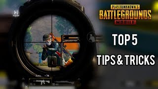 Top 5 Tips & Tricks In PUBG Mobile | Ultimate Guide To Become Pro #10