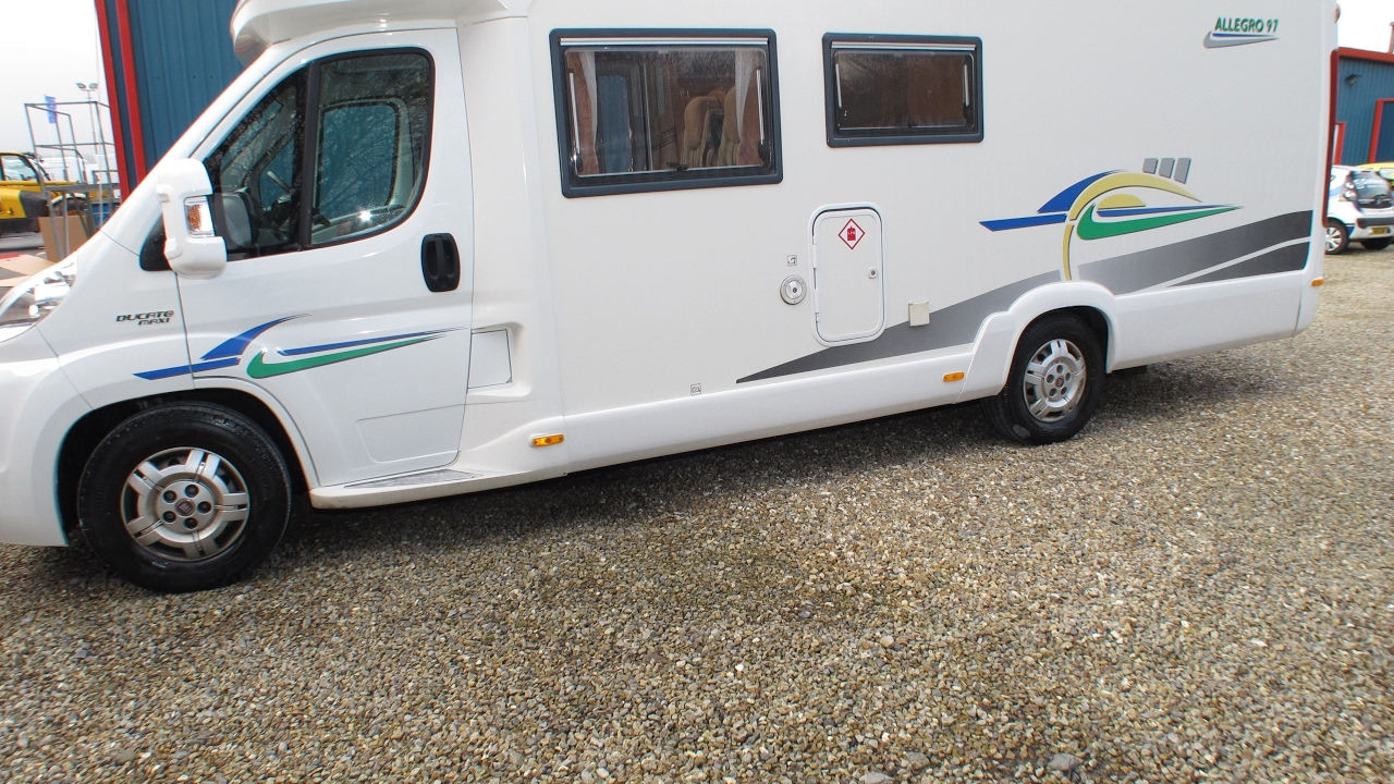 Fantastic 2008 Chausson Allegro 97 Motorhome - YouTube