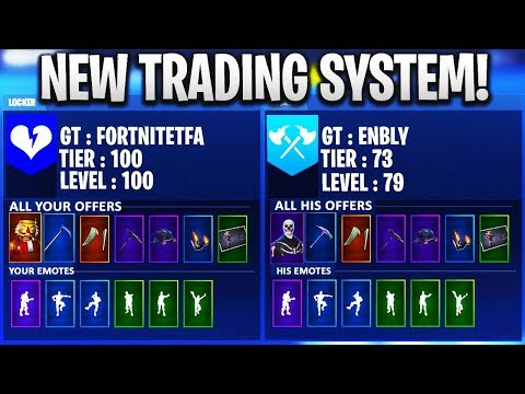 How To Trade Skins On Fortnite! Trade Any Skin You Want For Skull Trooper! Fortnite Battle Royale