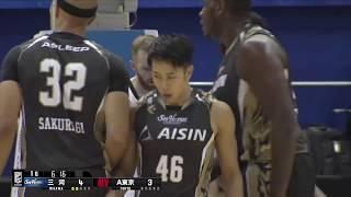 シーホース三河vsアルバルク東京|B.LEAGUE第2節 GAME1Highlights|10.13.2018 プロバスケ (Bリーグ)