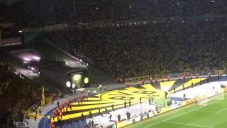 Festa do Bayern, reconhecimento do torcedor do Borussia Dortmund
