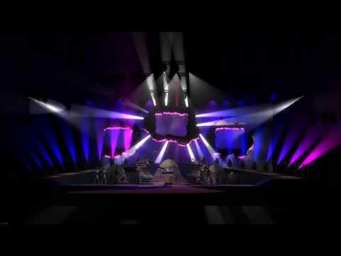 Katy Perry - Stage Lighting - GrandMA 3D