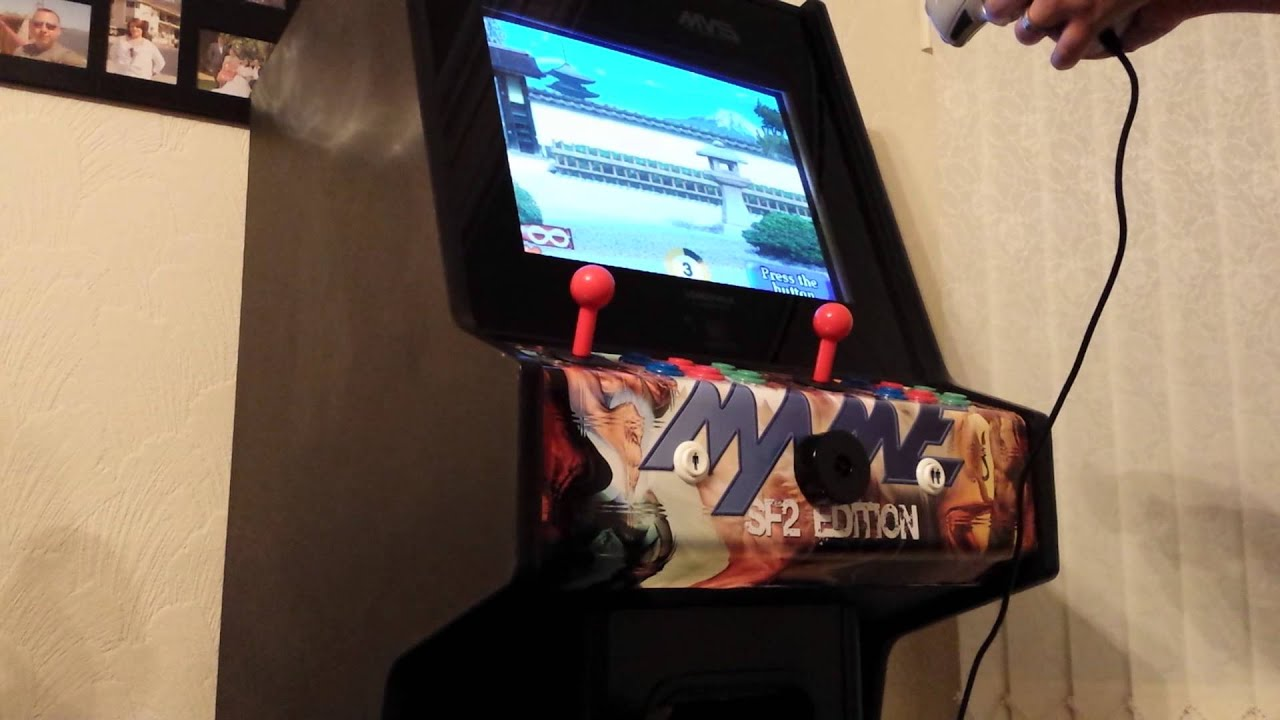 Act-Labs light gun on PC MAME cabinet - YouTube