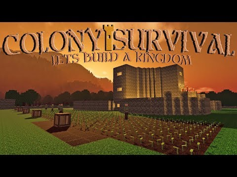 Data Play's    Colony Survival 🏰    Ep 12   Ready To Work?