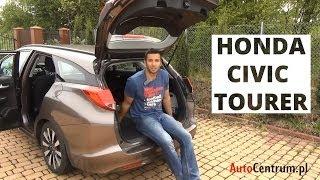 Honda Civic Tourer 1.8 i-VTEC 142 KM, 2014 - test AutoCentrum.pl #073(Więcej Informacji ↓↓ Honda projektując model Civic Tourer postawiła na praktyczne rozwiązania oraz funkcjonalność, z największym naciskiem na przepastny ..., 2014-05-01T09:36:48.000Z)