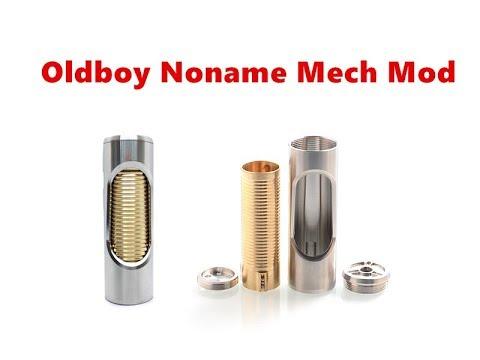 Oldboy Style Noname Hybrid Mechanical Tube Mod From Wejoytech