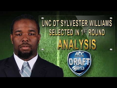 1st Round | UNC DT Sylvester Williams Selected | ACCDigitalNetwork
