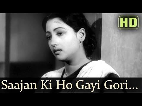 Sajan Ki Ho Gayi Gori (HD) - Devdas (1955)- Dilip Kumar - Vyjayantimala - Suchitra Sen - Manna Dey