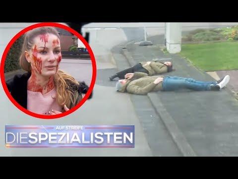 Debbie Fischer tappt in eine Falle: Wieso täuschen sie einen Unfall vor? | Die Spezialisten | SAT.1
