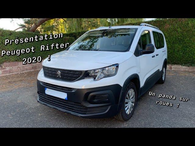 Test Du Nouveau Peugeot Rifter 2020 Youtube