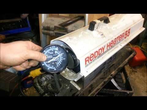 Torpedo Kerosene Heater repair & HOW they work