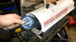 Torpedo Kerosene Heater repair & HOW they work