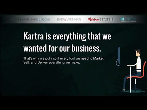 KARTRA Ecommerce Shopping Cart - Commerce Totally Connected
