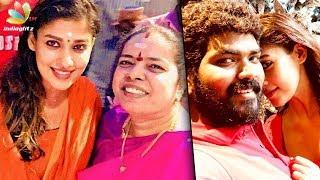 Nayanthara, Vignesh Shivan visit temple for New Year   Hot Tamil Cinema News