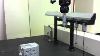 Analog Scanning with CAPPS DMIS and Renishaw PH10M / SP25