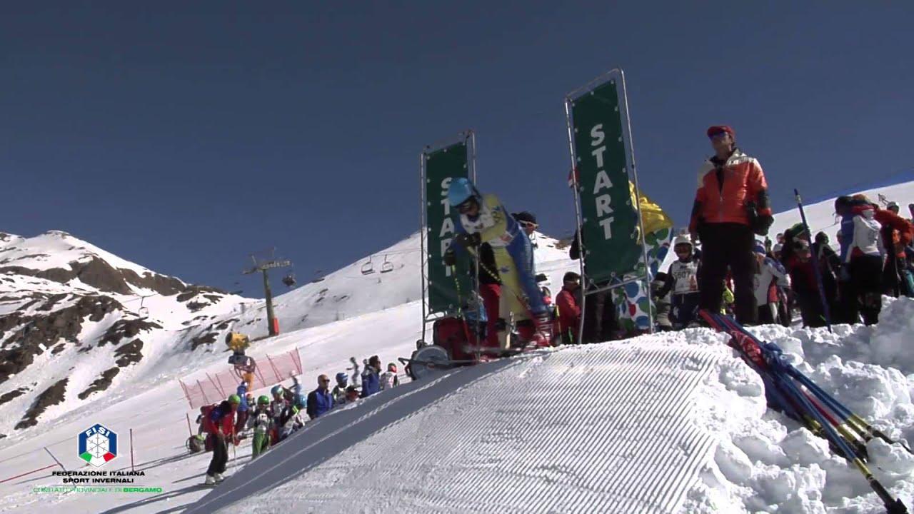 Selezione nazionale pinocchio sugli sci, foppolo 24 marzo 2016