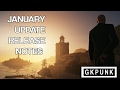 Hitman - January Update Release Note/Patch Notes Explanation