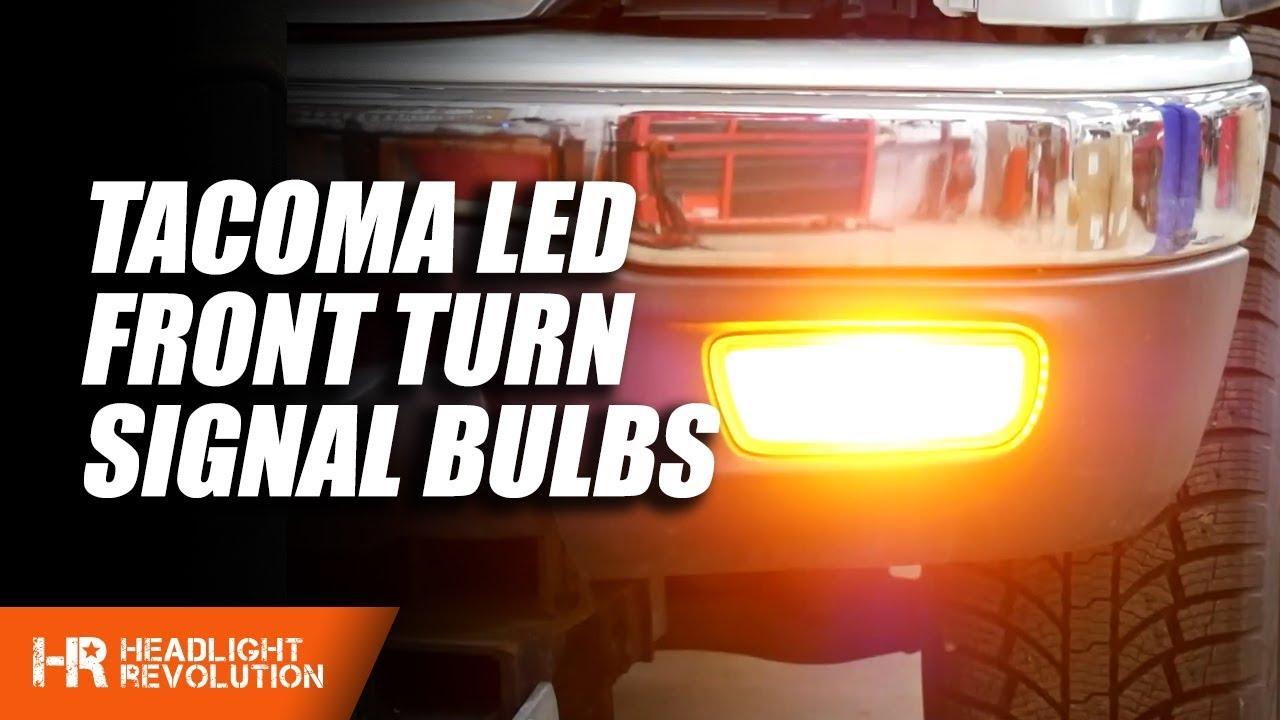 Toyota Tacoma LED Front Turn Signal Bulbs | Headlight Revolution on