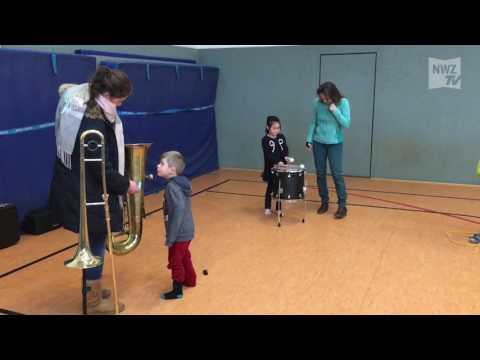 Besonderer Musikunterricht an Grundschule Jägerstraße in Hude