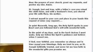 Novena to St. Joseph - Day 3 of 9.mp4