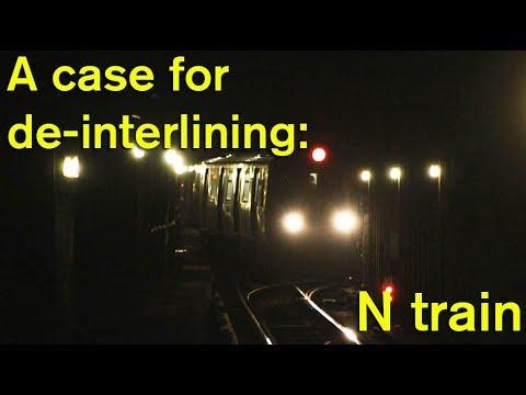 A Case For De-interlining: N Broadway Line Crossover