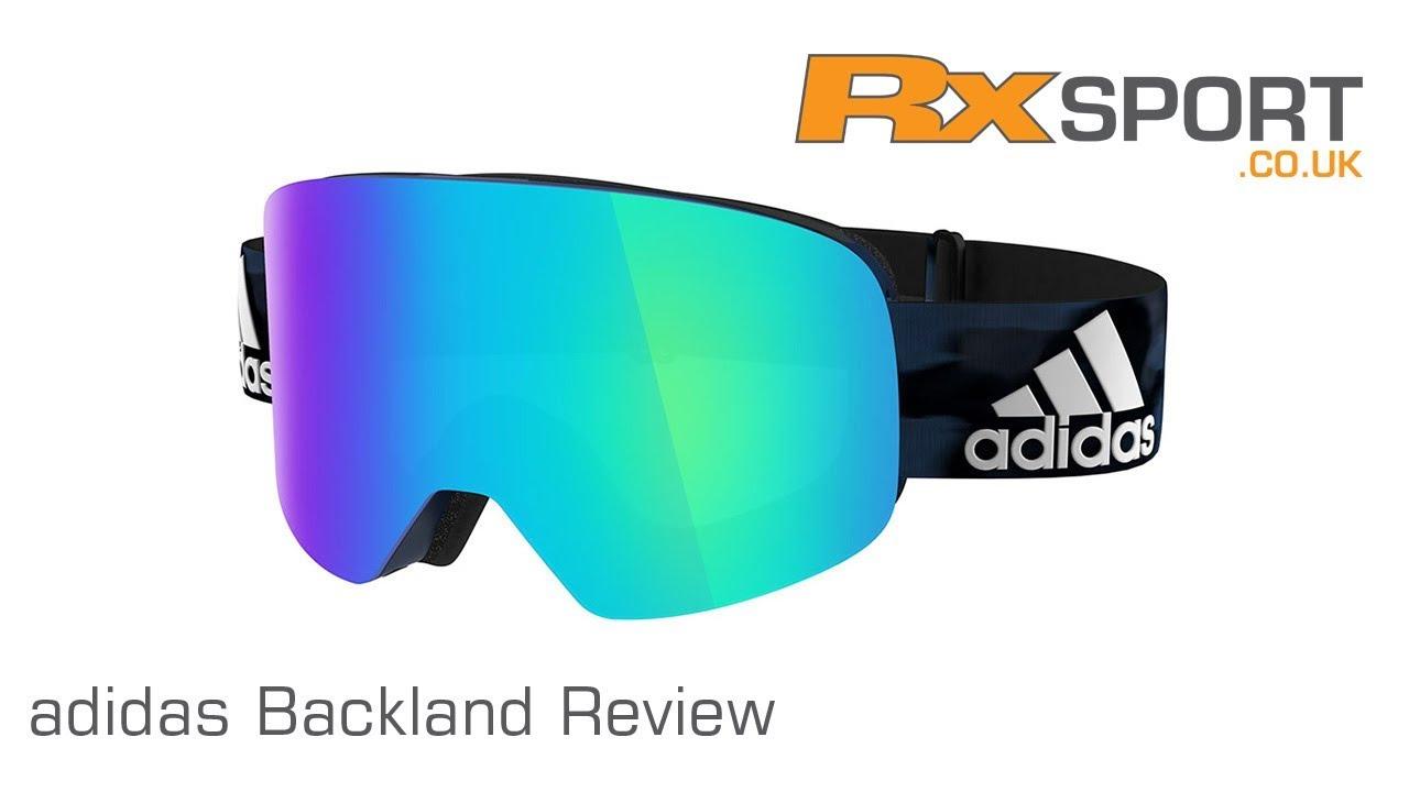 mejor selección de 2019 ahorros fantásticos zapatos de separación adidas Backland Ski Goggles Review | RxSport.co.uk - YouTube