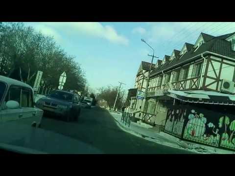 #Крым #Симферополь Обзор ул. Титова - альтернатива пробкам Симферополя