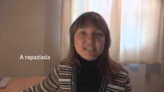 """Португальский язык Урок 8 """"Слова - Существительные"""""""