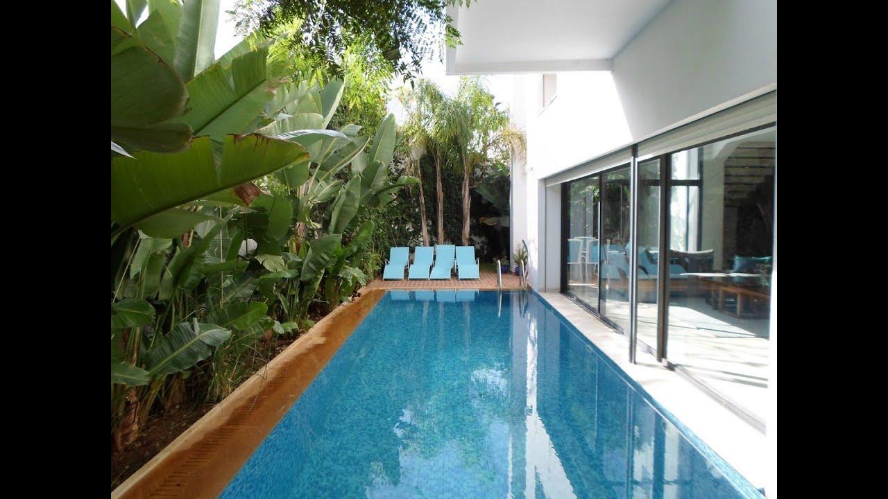 Villa  vendre avec piscine Hay El Hana Casablanca  YouTube