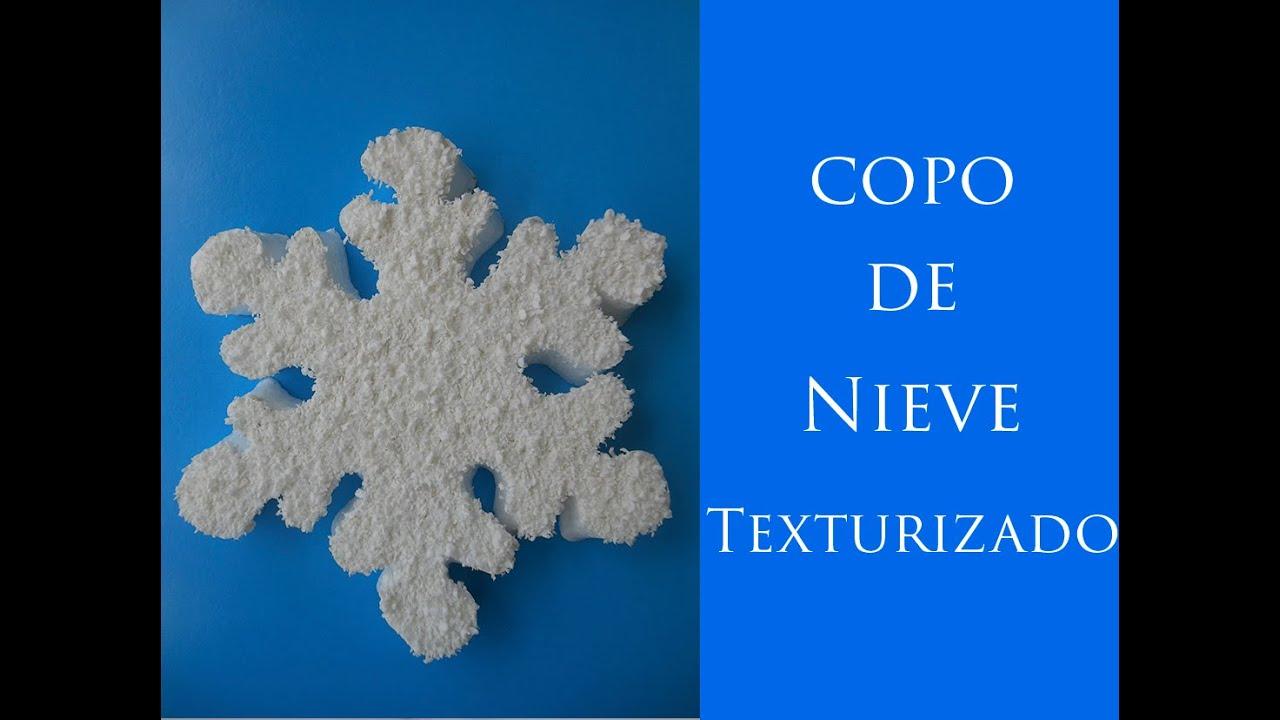 Copo De Nieve Frozen Texturizado Frozen Snow Snowflake Textured