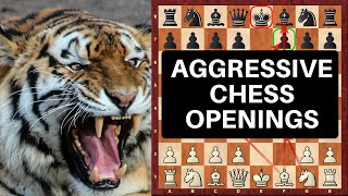 Top 10 Outrageously Aggressive Chess Openings