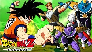 DRAGON BALL Z: KAKAROT ( EL EQUIPO GINYU EN NAMEK )