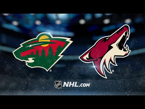 Dubnyk earns 200th NHL win as Wild beat Coyotes, 3-1