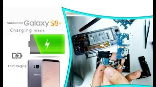Samsung S8+ S8 Plus (G955F) Charging Port Only Replacement Fast Charging Repair / Naprawa ładowania