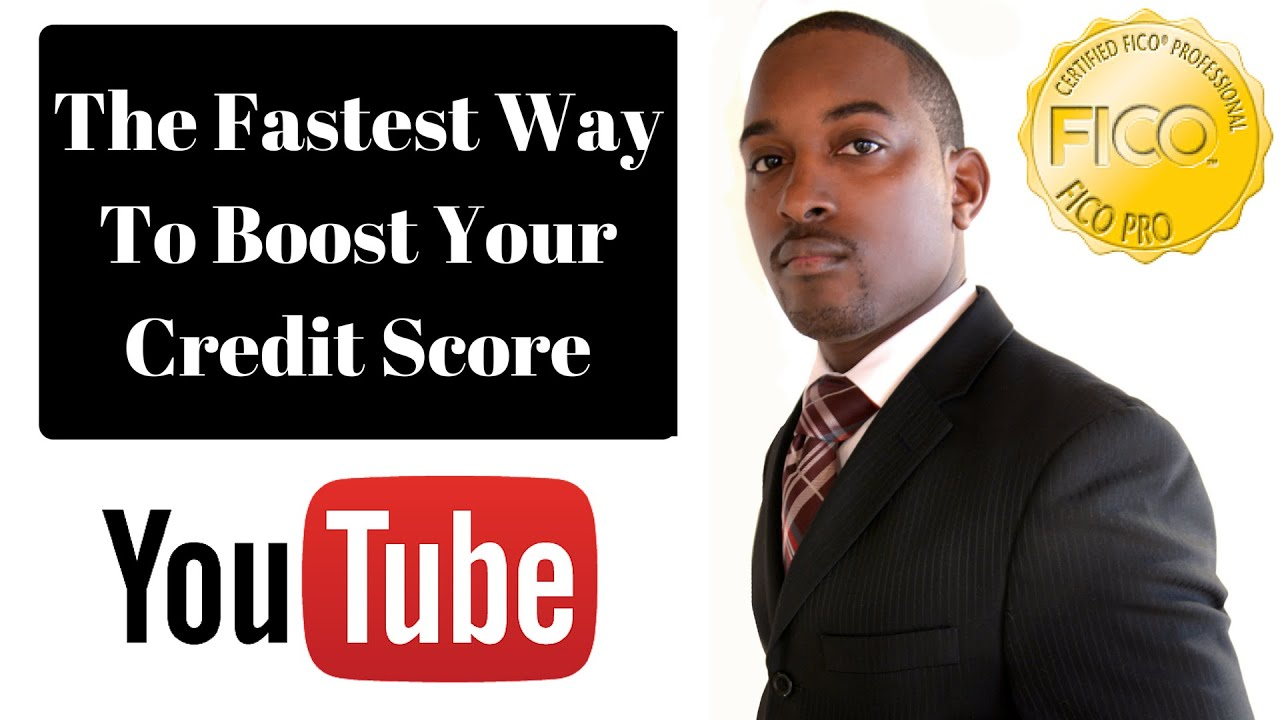 Fastest way to boost credit score