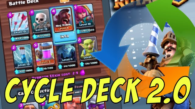 Hog Cycle Deck 2 0 Faster Amp Better Clash Royale